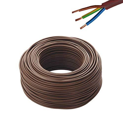 Cavo Fror Tutor Elettrico multipolare isolante per impianti elettrici e di tubazione cavo antincendio varie sezioni (3x2,5 (25 mt))