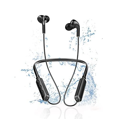 Cuffie Bluetooth Sport Potenziati,Dispone Di Bluetooth 5.0,Auricolari Bluetooth Senza Fili Magnetici...