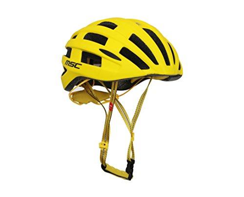 MSC Bikes HX109MLYE Casco, Amarillo, M/L (58-61)