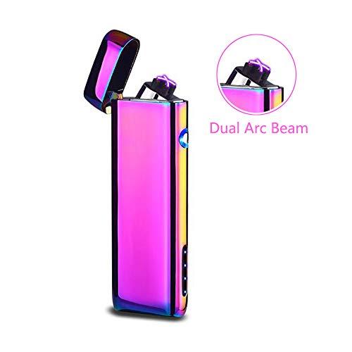 Saibit Electric Lighter, Double Arc Electronic USB Rechargeable Lighter,...