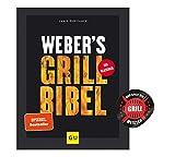 Collectix Weber's Grillbibel (GU Weber's Grillen) + Grill-Sticker, Kochbuch für Grill-Fans