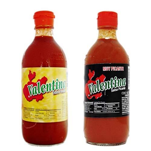 Valentina Pack 2x370 ml Salsa Picante y Extra Picante en