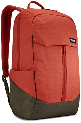 THULE Lithos 2019 Mochila Tipo Casual 50 Centimeters Naranja  Rooibos Forest Night