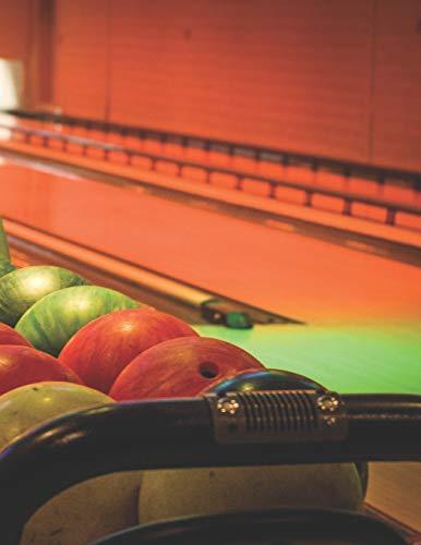 Bowling Scorebuch: Trainingstagebuch für dein Bowlingtraining und deine Bowlingspiele ♦ Führe Protokoll, notiere jeden Strike, Spare und deine ... A4+ Format ♦ Motiv: Bowlingabend