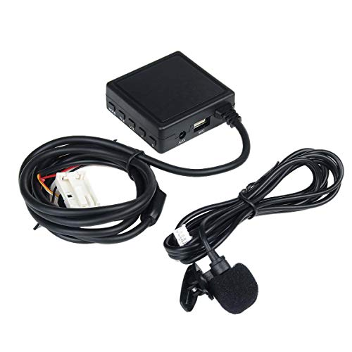 cherrypop Módulo de audio manos libres teléfono adaptador auxiliar para cable de teléfono Mercedes W203 W209 W211