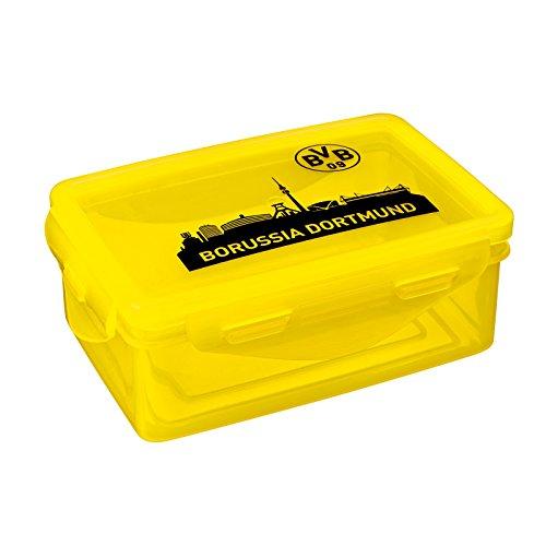 Borussia Dortmund, BVB-Brotdose (2 Stück), Schwarz/gelb, 0