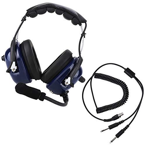 Gatuxe Auriculares de aviación, Auriculares de comunicación con reducción de Ruido para la comunicación para la audición