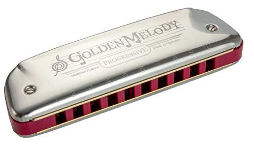 Hohner Harmonica Blues Golden Melody-542 20 Tonalidad C, 542PBX-C