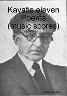 Kavafis Eleven Poems (music Scores)