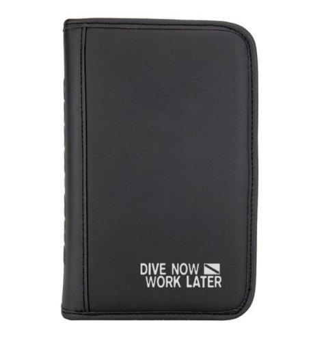 Sub-Book, schwarz, Motiv: Dive Now - Work Later