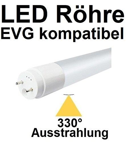 TÜV Süd zertifiziert! 150 cm LED Röhre T8 / G13 für EVG OHNE Starter, 29 Watt, 330° AUSSTRAHLUNG, 3480 LUMEN, Neutralweiß ~ 4000 Kelvin, ersetzt 58 Watt Leuchtstoffröhre. EVG KOMPATIBEL