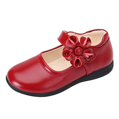 pour 3.5-14ans Bébé,Transer ® Mode Enfants Filles Sandales Flower Perform Dance Princess Simple Chaussures Casual