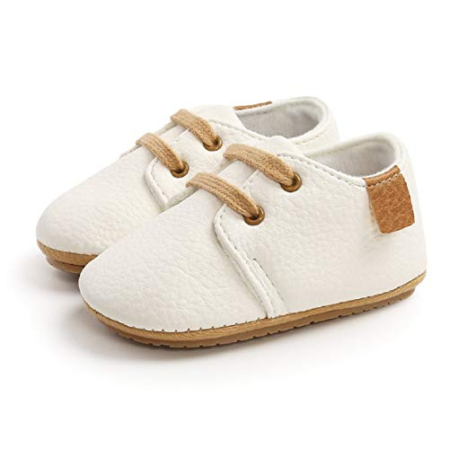 Zapatillas de Suela Blanda para bebés Niños y niñas, Zapatos para bebés Prewalkers Zapatos Deportivos Antideslizantes para 0-18 Meses