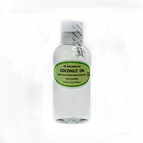 Organic Pure Fractionated Coconut Oil You Pick Size (4 oz)