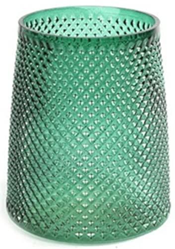 CF label waxinelichthouder Nerva 13 x 15 cm glas groen