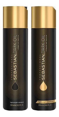 Kit Sebastian Dark Oil Shampoo 250ml + Condicionador 250ml