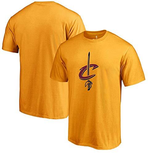 LXY-Sports T-Shirt NBA Cleveland CavaliersFan Stampato Leisure T-Shirt Comoda di Grandi Dimensioni, XXXL