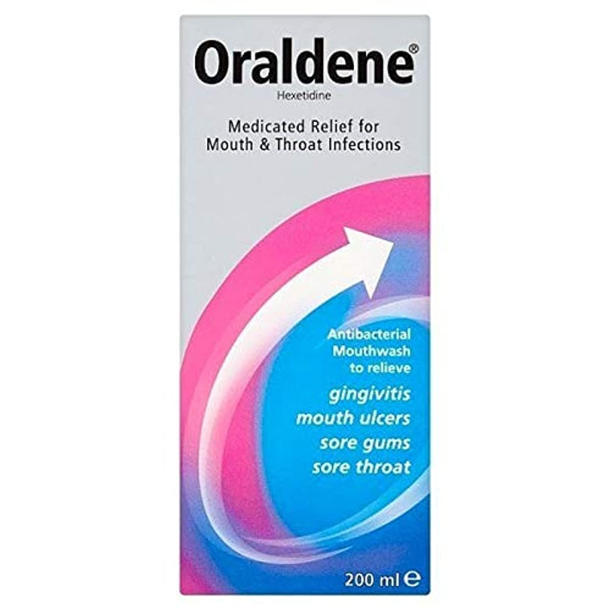 請求機構フォーク[Oraldene] Oraldeneマウスウォッシュ200ミリリットル - Oraldene Mouthwash 200ml [並行輸入品]