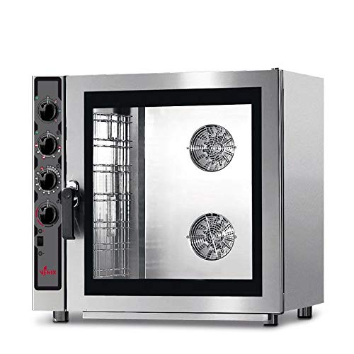 Backofen Bäckerei, manuell – 5 bis 10 Platten 600 x 400 – GN 1/1 – Venix – 7 Platten 600 x 400 cm
