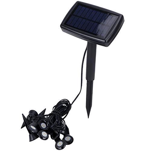 Landschapslamp, warm witte buitenlamp op zonne-energie, waterdicht energiebesparend Eenvoudig te installeren Hittebestendig voor buiten en binnen met tuinpad