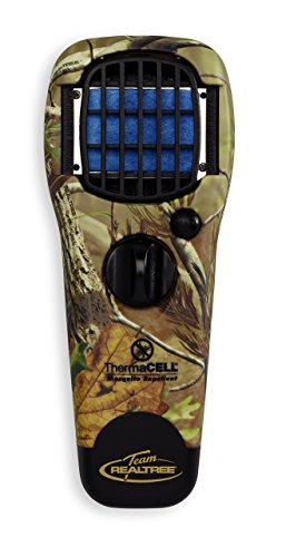 Thermacell MR150 Portable Mosquito Repeller, Contains Fuel Cartridge and 3 Mosquito Repellent Mats Providing 15-ft Zone of Protection for 12 Hours of Mosquito-Free Relief; DEET-Free, No Spray