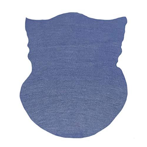 Balaclava Face UV Protection for Men Women Ski Sun Hood Lightweight Thin Neck Gaiter Protection Face for Outdoor Sport (Steel Blue)