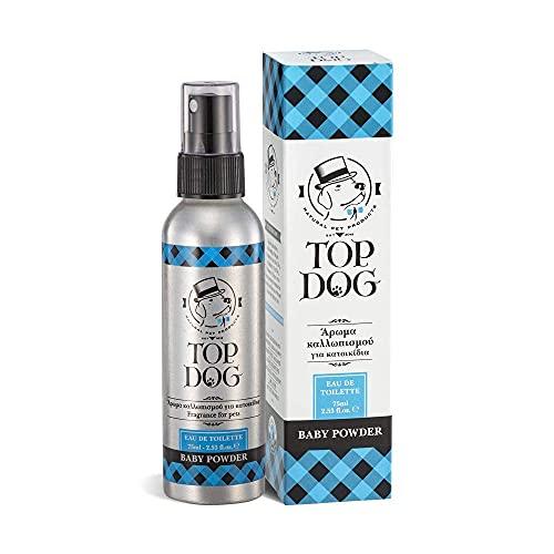 Top Dog Perfume en polvo para bebés, 75 ml
