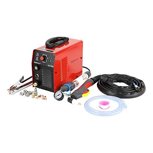 HEROCUT Plasma Cutter, CUT35 30Amp High Frequency 50/60Hz IGBT Inverter Air Plasma Cutting Machine Max Cutting Thickness 10mm (220V)