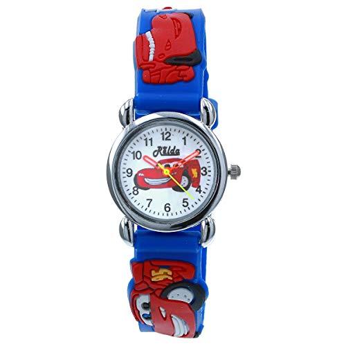 Relda REL134 - Reloj infantil con correa de silicona, color azul