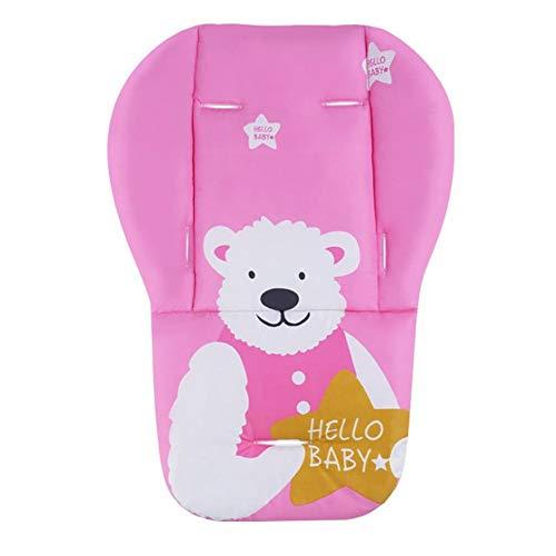 Morningtime Baby Sitzauflage für Babyschale Waschbar Baumwolle Faltbarer Tragbare Kissen Atmungsaktive Teppich für Autokindersitz Kinderwagen Universal Vier Jahreszeiten
