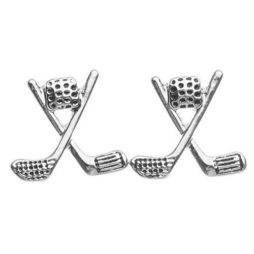 Sportybella - Pendientes de Golf para Mujer y niña