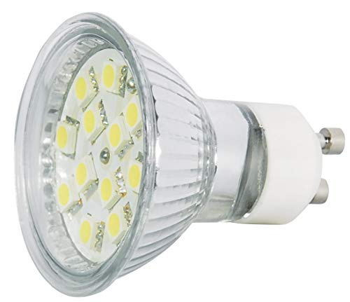 Transmedia LP6-3CL Power SMD Spot LED 230 V 3 W GU10 Blanc Froid