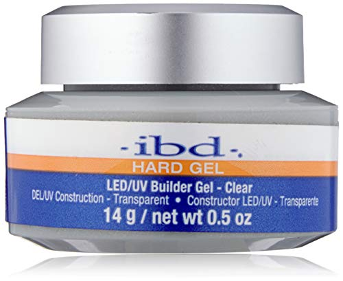 IBD LED/UV Gels Builder Gel Clear, 0.5 oz