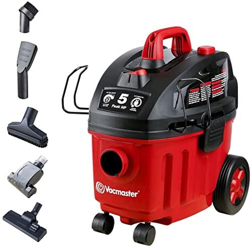 Vacmaster 4 Gallon, 5 Peak HP Wet/Dry Floor Vacuum, VF408