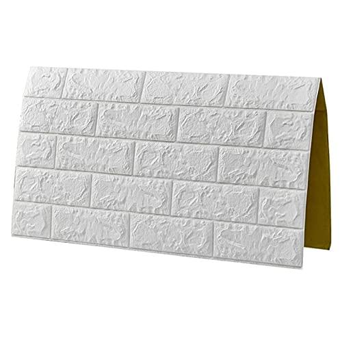 Paneles de Pared de Papel Tapiz 3D autoadhesivos - Revestimiento de Pared Moderno con Apariencia de Piedra - Instalación rápida y fácil