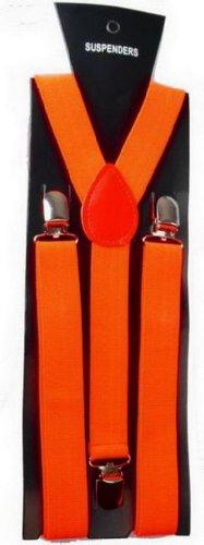 Y-BOA - Bretelle Y élastique–Unisexe- Orange – L.100* L.2.5CM - Femme/ Homme Moderne – Réglable - Solide –Casual- Pantalon Jeans