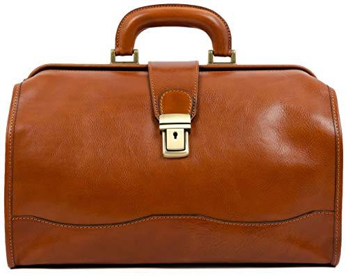Leather Doctor Bag - David Copperfield (Marrón Claro)