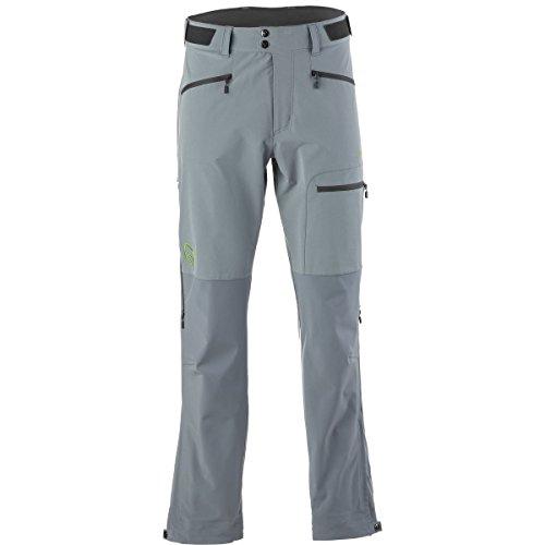 Norrona M Falketind Windstopper Hybrid Pants - Bedrock - M - Robuste wasserabweisende Herren Windstopper® Softshell Hose