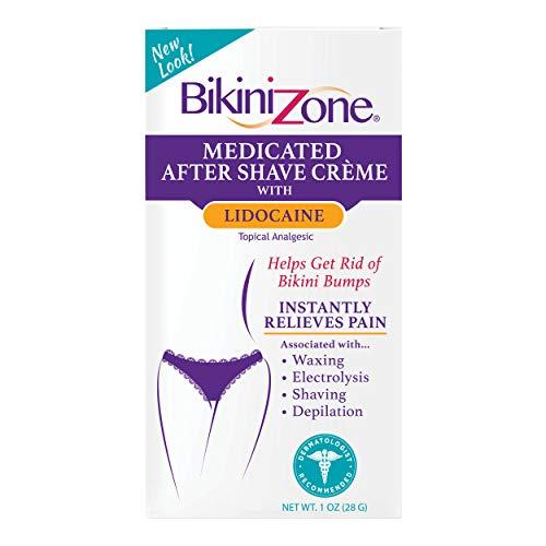 Bikini Zone Bikini 60VCA Zone Medicated Creme for Bikini Area, 1 Ounce