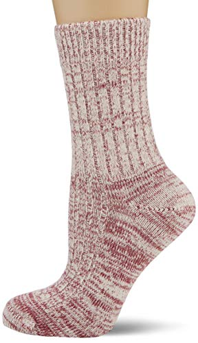 Living Crafts Norwegersocken 35/38, bordeaux mouliné