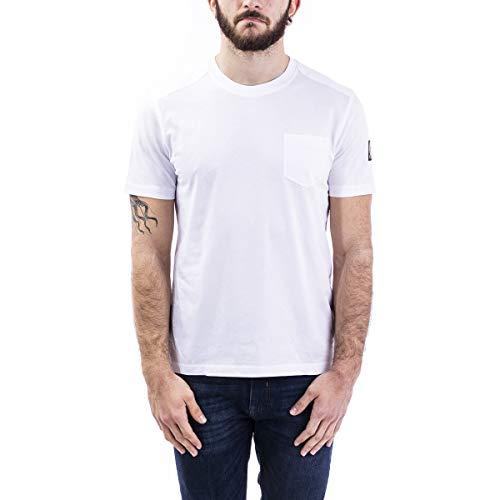 Belstaff T-shirt cotone Uomo cod.71140230 WHITE SIZE:M