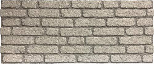 Wandverkleidung in Steinoptik für Schlafzimmer, Wohnzimmer, Küche und Terrasse in Klinkeroptik Look. (ST 351-129)