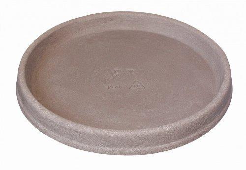 Geli Untersetzer Marcella rund aus Kunststoff Taupe, Durchmesser:56 cm
