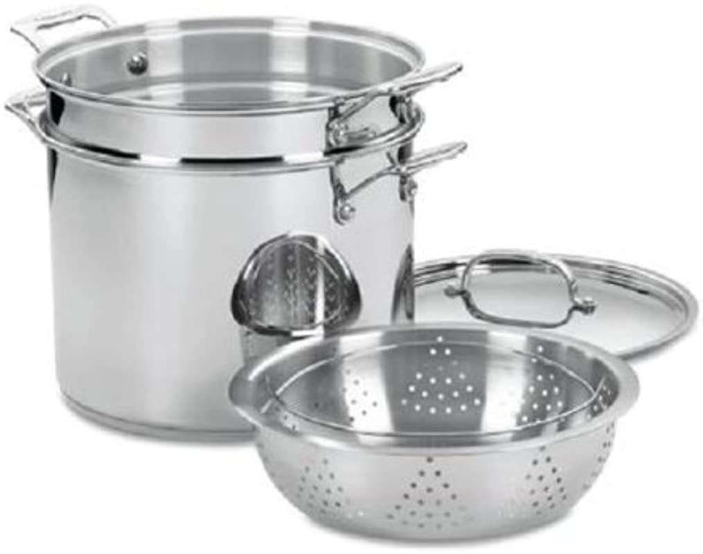 Cuisinart Chef S Classic Stainless 12 Qt Pasta Steamer Set