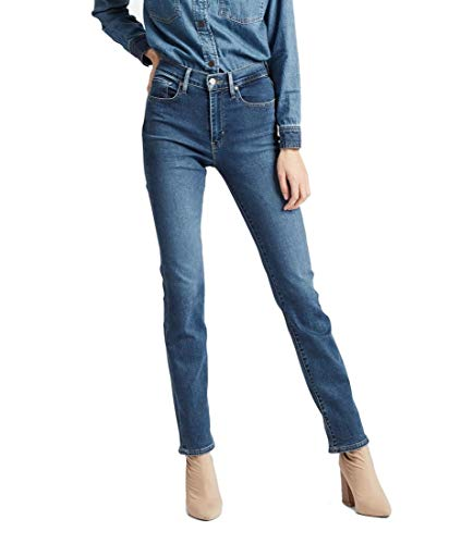 Levis 724 High Rise Straight Mujer W27/L32 Azul