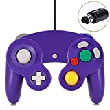 Gamecube Controller, Classic Wired Controller for Wii Nintendo Gamecube (Purple)
