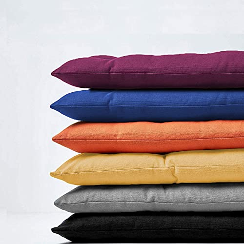 Cuscino per panca da 8 cm di spessore, 2 3 posti, rettangolare, per interni ed esterni, per chaise swing (110 x 40 x 8 cm, beige)