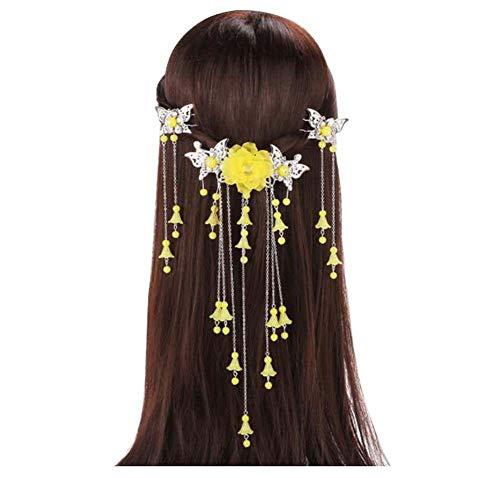 Longue épingle à cheveux à la main, Accessoires anciens, Coiffe Hanfu Cosplay, B03