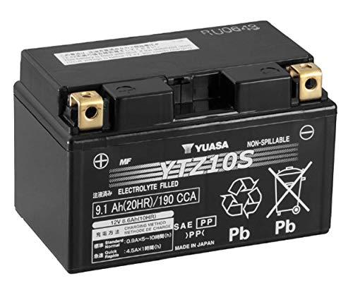 YUASA Batterie YTZ10S 12V, Autre, 150 mm X 87mm