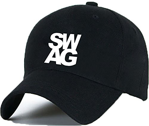 Bonnet Casquette Snapback Baseball WILDLIFE OMG 1994 Hip-Hop en Noir/Blanc avec les ASAP Bad Hair Day